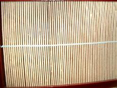 二枚折屏風(市松模様)